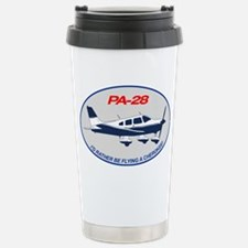 Id Rather be Flying a Cherokee! Travel Mug
