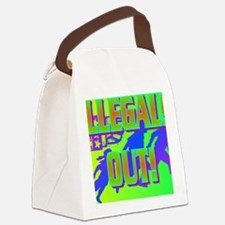 ILLEGALS OUT!(mousepad) Canvas Lunch Bag