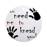 Massage therapy Round Ornaments