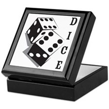 dice1 Keepsake Box