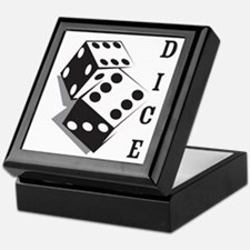 dice1 Keepsake Box
