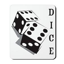 dice1 Mousepad