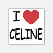 "CELINE Square Sticker 3"" x 3"""