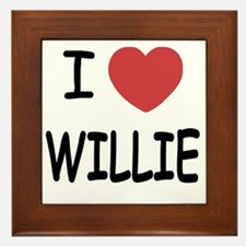 WILLIE Framed Tile