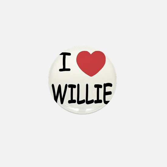 WILLIE Mini Button