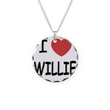 WILLIE Necklace Circle Charm