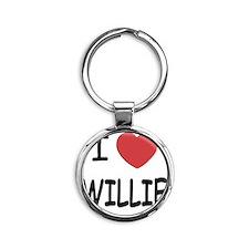 WILLIE Round Keychain