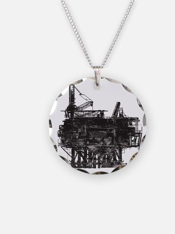 VintageOilRig1 Necklace