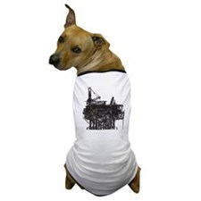 VintageOilRig1 Dog T-Shirt