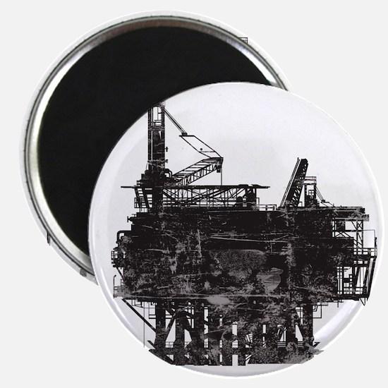 VintageOilRig1 Magnet