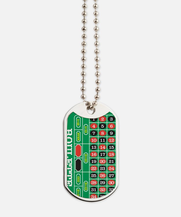 Roulette1 Dog Tags