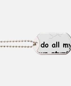 AllMyOwnStunts2 Dog Tags