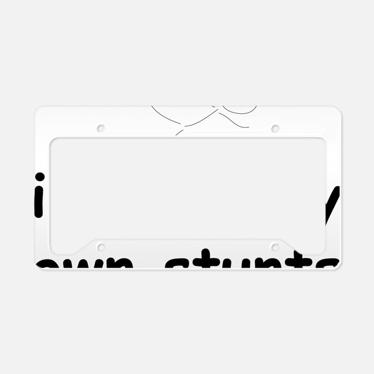 AllMyOwnStunts2 License Plate Holder