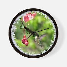 2-Hum7x7SF Wall Clock