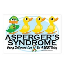 Aspergers-Ugly-Duckling Postcards (Package of 8)