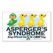 Aspergers-Ugly-Duckling Bumper Stickers