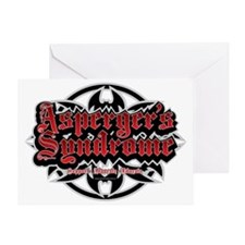 Aspergers-Syndrome-Tribal Greeting Card