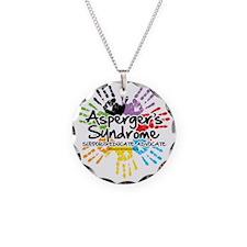 Aspergers-Handprint Necklace
