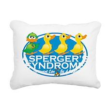 Aspergers-Ugly-Duckling- Rectangular Canvas Pillow