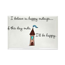 happy endings Rectangle Magnet