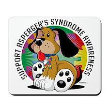 Aspergers-Syndrome-Dog Mousepad