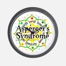 Aspergers-Syndrome-Lotus Wall Clock
