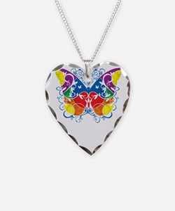 Aspergers-Syndrome-Butterfly- Necklace