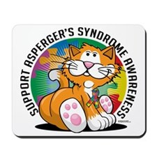 Aspergers-Syndrome-Cat Mousepad