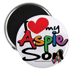 I-Love-My-Aspie-Son Magnet