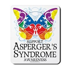 Aspergers-Syndrome-Butterfly Mousepad