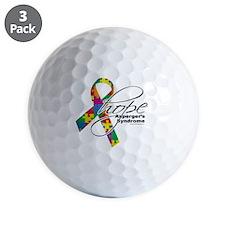 Aspergers-Hope-2 Golf Ball
