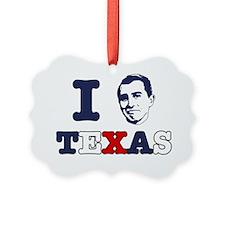 I Micah Texas Ornament