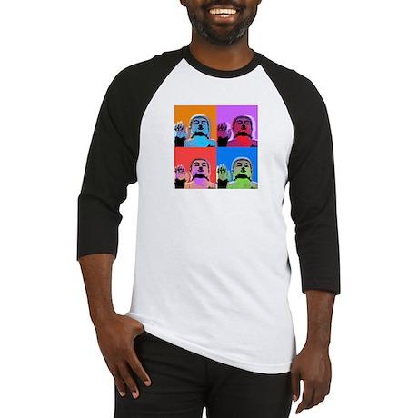 Buddha Pop Art Warhol style Baseball Jersey