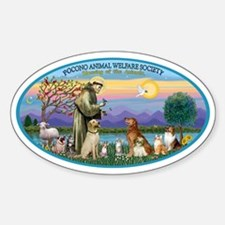 OVAL - St Francis-Pocono - Blessing Sticker (Oval)