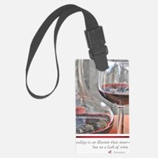 10 RED WINE QUOTE Luggage Tag