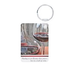 10 RED WINE QUOTE Keychains