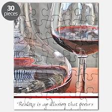 10 RED WINE QUOTE Puzzle