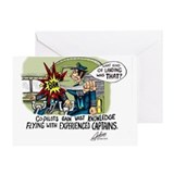 Airline pilot Greeting Cards