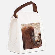 Orangs Canvas Lunch Bag