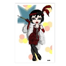 Flapper Gal Postcards (Package of 8)