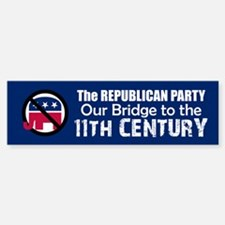 BRIDGE TO 11TH CENTURY Bumper Bumper Bumper Sticker