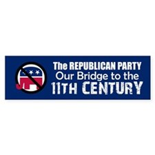 BRIDGE TO 11TH CENTURY Bumper Bumper Sticker
