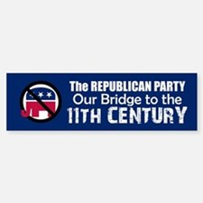 BRIDGE TO 11TH CENTURY Bumper Car Car Sticker
