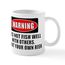 WARNING 4 WHITE Mug