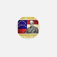 Robert E Lee -in command Mini Button