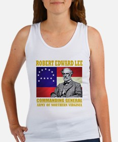 Robert E Lee -in command Women's Tank Top