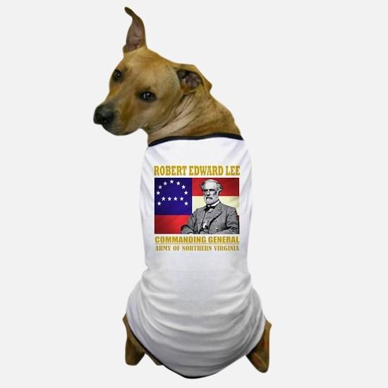 Robert E Lee -in command Dog T-Shirt