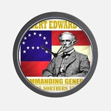 Robert E Lee -in command Wall Clock