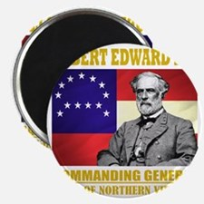 Robert E Lee -in command Magnet