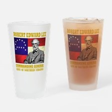 Robert E Lee -in command Drinking Glass